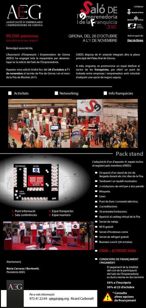 Informació saló 2015