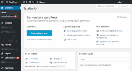 Curs de Wordpress - Inici @ Edifici Centre d'empreses -  Parc Científic i Tecnològic de la UdG | Girona | Catalunya | Espanya