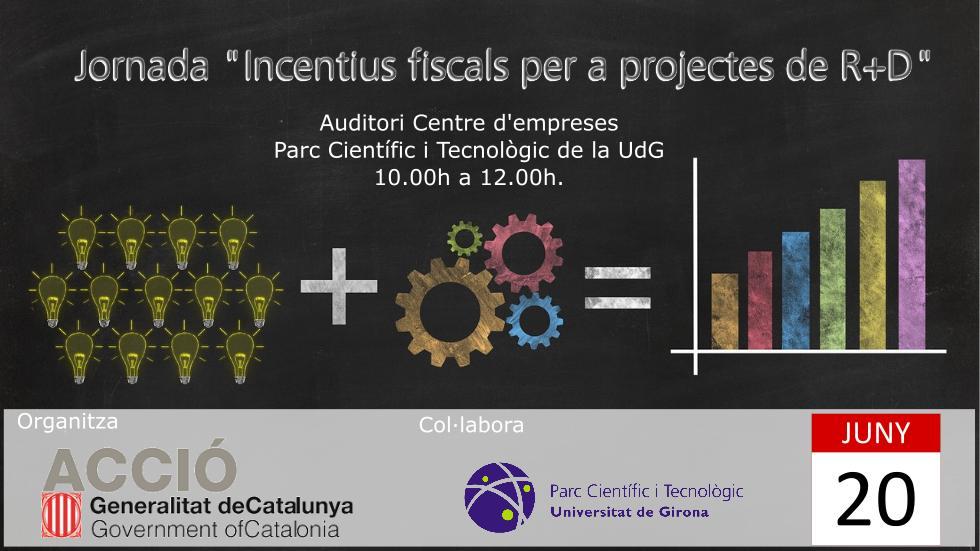 Jornada Incentius Fiscals per a projectes de R+D tf