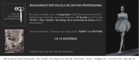 Inauguració Escola de Qstura Professional