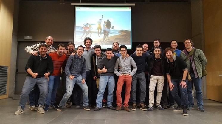 Grup de finishers de la III HackathonGi 2016
